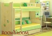 Кровать со скалодромом