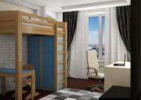 Кровати-чердаки высокие