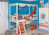 Кровати-домики с балдахином