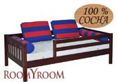 Кровать с бортиками 1