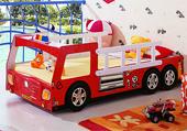 Пожарная кровать-машина