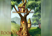 Домик на дереве 1500x2700 мм