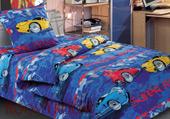 Детское постельное белье «Ралли» (1,5 спальное)