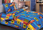Детское постельное белье «Феррари» (1,5 спальное)